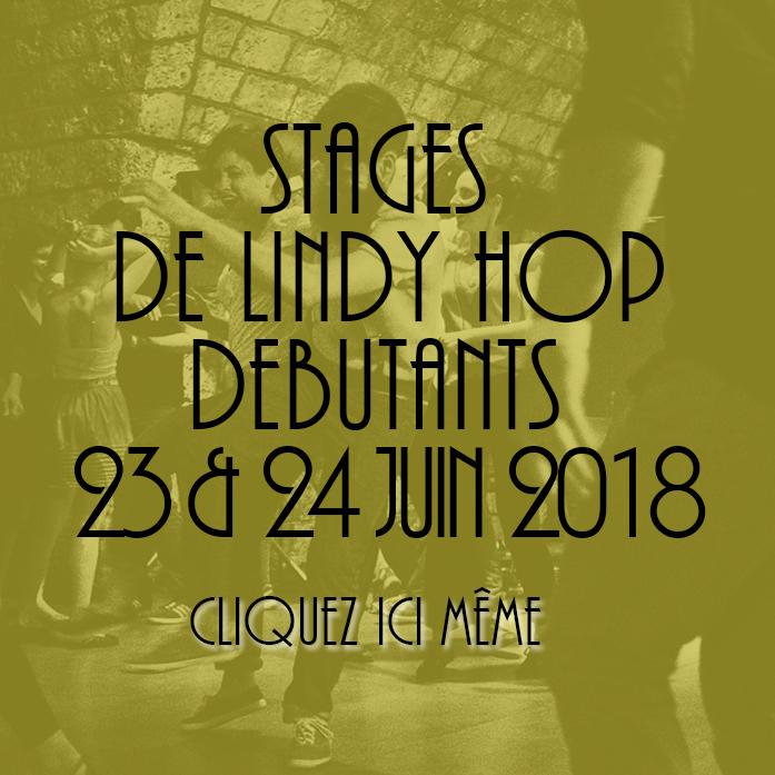 NIVEAU DEBUTANTS LINDY HOP : Tu es totalement débutant et tu souhaites progresser et maitriser rapidement les premières variations de Lindy Hop, ce niveau est fait pour toi !