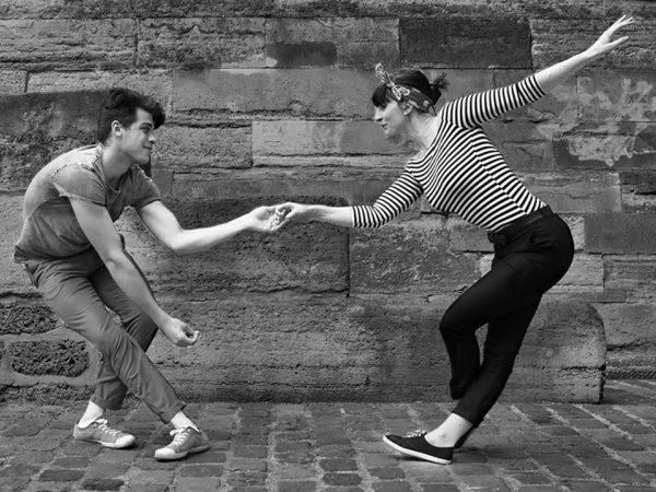 Vincent et Aline dansent le lindy hop